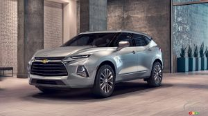 2019 Chevrolet Blazer: Details on the trims of the reborn SUV