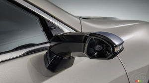 Lexus ES: cameras to replace the side-view mirrors