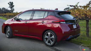 2019 Nissan LEAF Details released for U.S.: No price increase