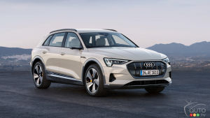Audi E-Tron Makes World Debut