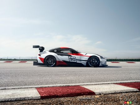 A track-focused Toyota Supra in the works