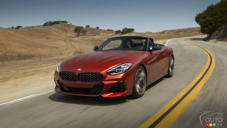No manual transmission for the new BMW Z4
