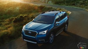 IIHS bestows Top Safety Pick+ rating on 2019 Subaru Ascent