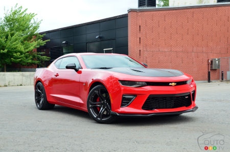 Review of the 2018 Chevrolet Camaro SS 1LE | Car Reviews
