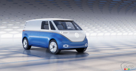 World Debut for Volkswagen I.D. Buzz Cargo and its 600-km range