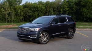 The 2018 GMC Acadia Denali: Our Flash Review & Photos