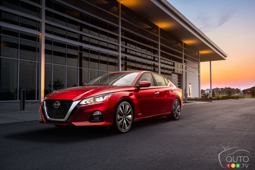 2019 Nissan Altima: Canada To Get Standard All Wheel Drive