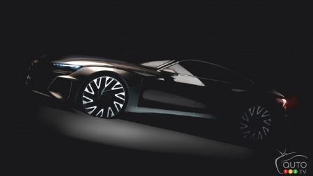 Audi will present an e-tron GT concept in Los Angeles