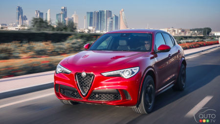 Alfa Romeo Stelvio Quadrifoglio named Performance SUV of the Year
