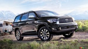 2019 Toyota Sequoia: Details and Pricing for Canada