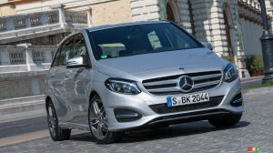 No More Mercedes-Benz B-Class in Canada after 2019