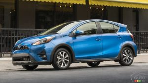 The 2019 Toyota Prius c: details, pricing for Canada