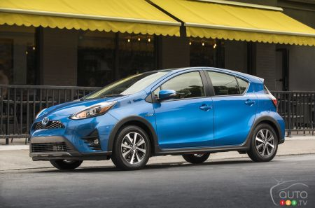 The 2019 Toyota Prius C Details Pricing For Canada
