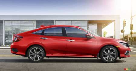 2019 Honda Civic to get Updated Design, Upgraded Standard Safety features
