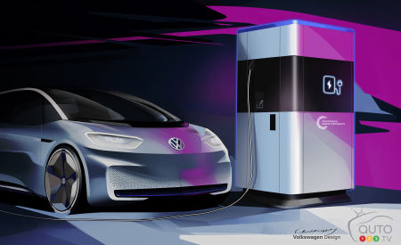Volkswagen Developing a Mobile EV Charging Station