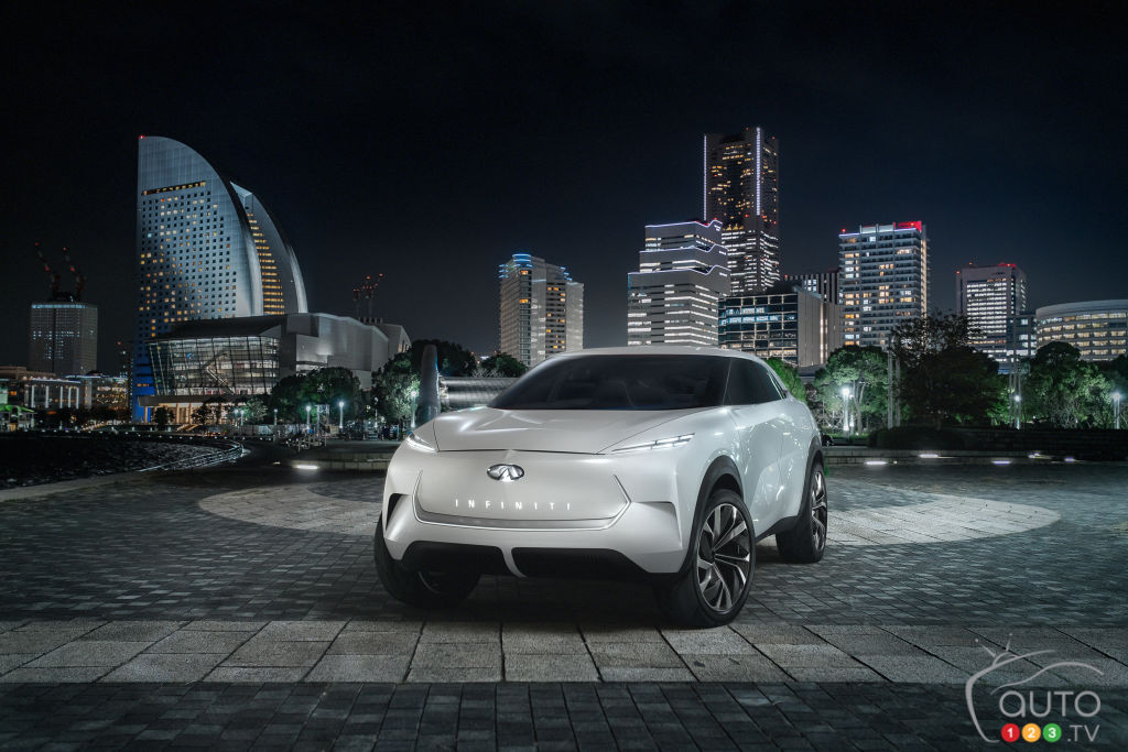 INFINITI Teases New QX Inspiration Electric SUV Concept Ahead of Detroit Launch