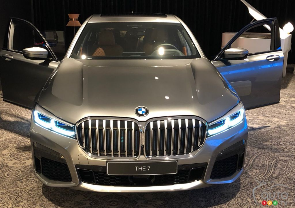 2020 BMW 7 Series Shows its New Face Via Leaked Image