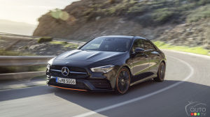 CES 2019: The 2020 Mercedes-Benz CLA in the Spotlight in Vegas