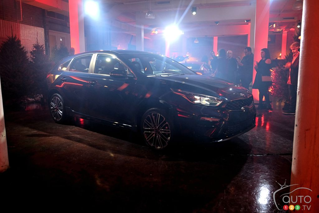 2020 Kia Forte5 Makes North American Debut in Montreal