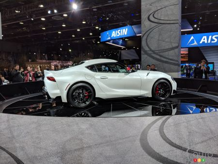 Detroit 2019: World Premiere for 2020 Toyota Supra