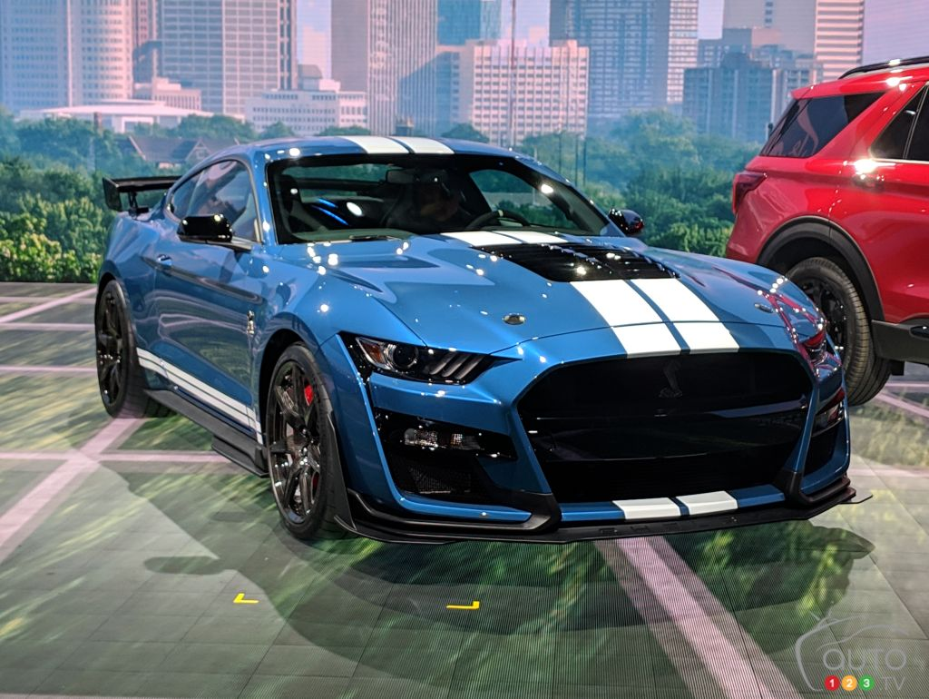 The 2020 Ford Mustang Shelby Gt500 Debuts In Detroit Car News