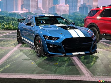 Detroit 2019: The 2020 Ford Mustang Shelby GT500 Makes its Big Entrance