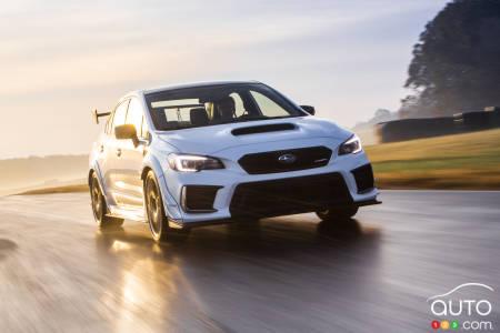Subaru WRX STI S209 makes big entrance at Detroit auto show