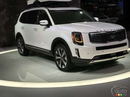 Detroit 2019: Kia Presents its Big Telluride SUV in Production Form