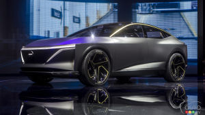 Detroit 2019: The Nissan IMs Concept, or the future of electric according to Nissan