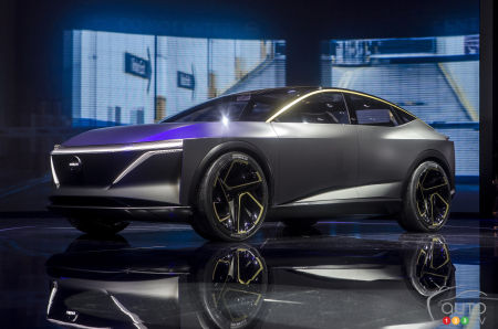Detroit 2019 The Nissan Ims Concept Or Future Of Electric According To