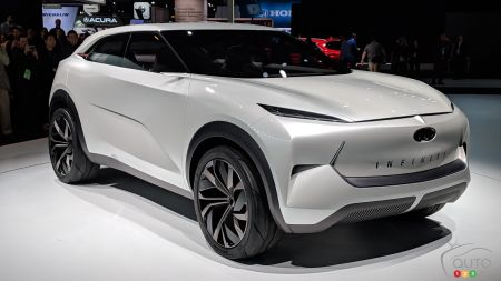 Detroit 2019: QX Inspiration Concept, a View of Electric Cars According to INFINITI
