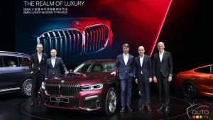Remodeled 2020 BMW 7 Series Sedan Makes World Premiere