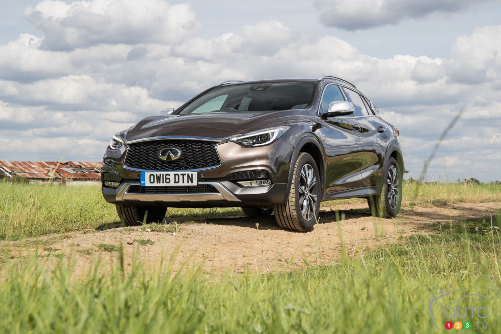 INFINITI QX30: Over Almost Before it Began