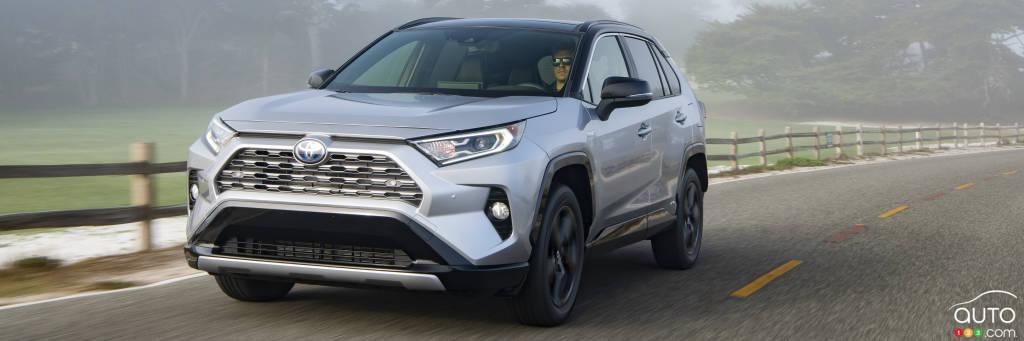 Canadian Pricing, Details for 2019 Toyota RAV4 Hybrid Revealed