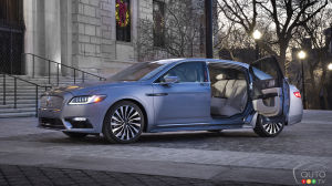 New suicide-door Lincoln Continentals are already sold out