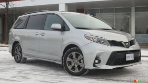 2019 Toyota Sienna SE AWD review