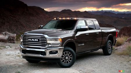 2019 RAM HD to Get Laramie Longhorn Versions