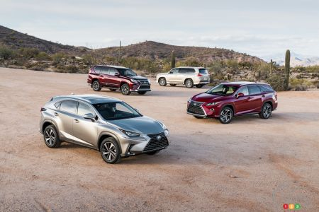 Lexus High-Performance SUVs on the Way?