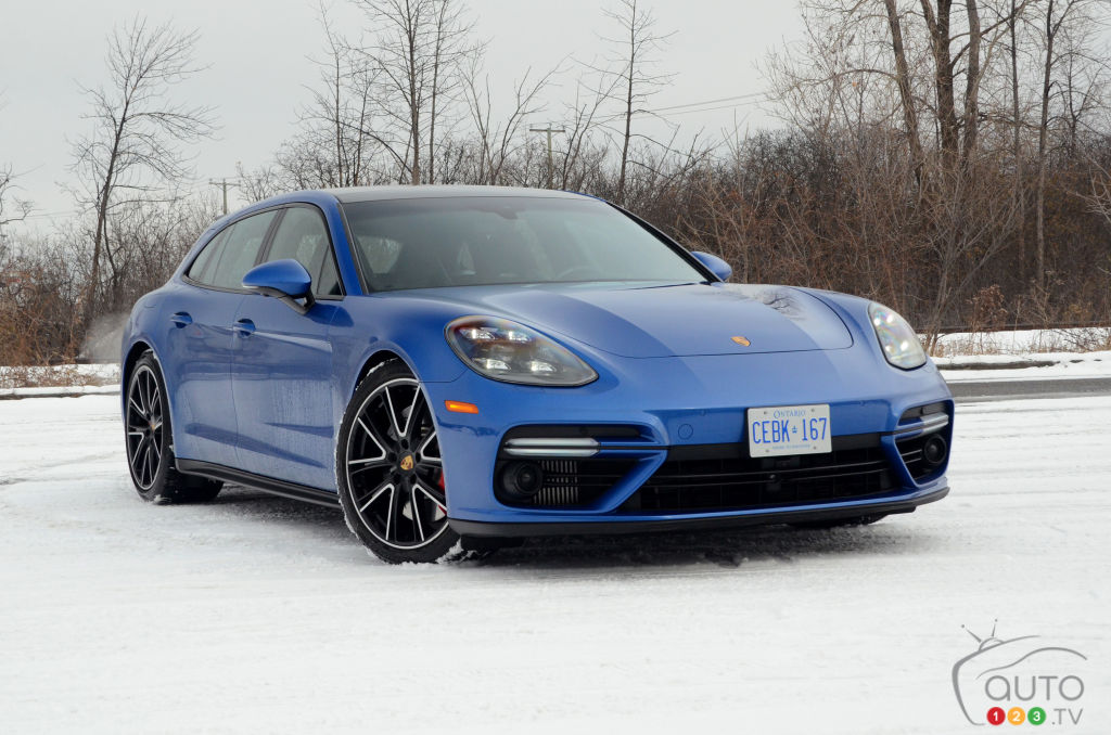 "2018 Porsche Panamera Turbo Sport Turismo Review: the ""shooting-brake"" par excellence"