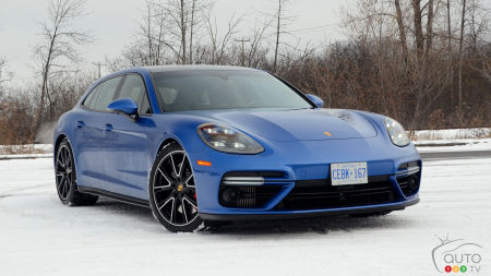 Porsche Panamera Turbo Sport Turismo 2018 : le « shooting-brake » par excellence