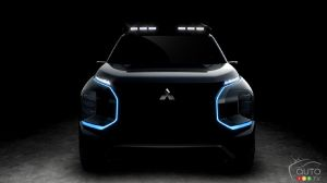 Mitsubishi Teases Engelberg Tourer SUV Concept Ahead of Geneva Debut