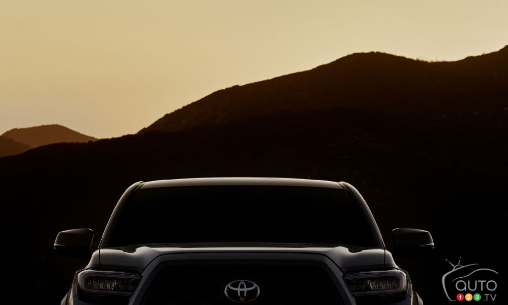 Toyota Teases First Image of its 2020 Tacoma
