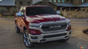 FCA Recalls 182,000 2019 RAM 1500 Pickup Trucks