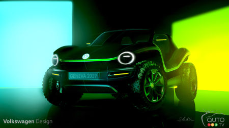 Volkswagen Will Bring an Electric Dune Buggy to the Geneva Auto Show