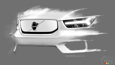 Volvo Previews Styling of the All-Electric XC40