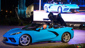 The 2020 Chevrolet Corvette Stingray Convertible Unveiled: By the Rocket's Red Glare