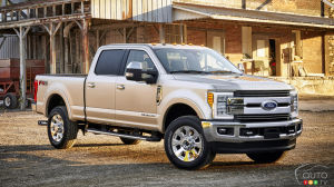 Ford Canada rappelle 4316 camionnettes Super Duty 2019