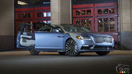 Lincoln Continental With Suicide Doors Back for 2020