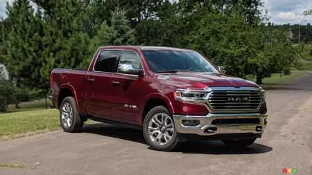 FCA Announces Fuel Consumption Figures For 2020 Ram EcoDiesel