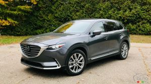 IIHS Boosts Mazda CX-9 Safety Rating to Top Safety Pick+